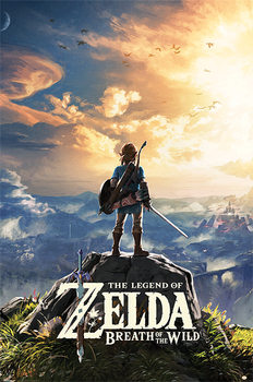 The Legend Of Zelda: Breath Of The Wild - Sunset Affiche
