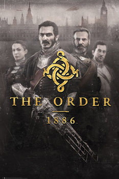 The Order 1886 - Key Art Affiche