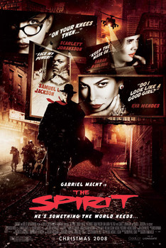 THE SPIRIT - one sheet Affiche