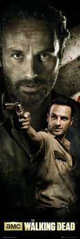 THE WALKING DEAD - rick Affiche