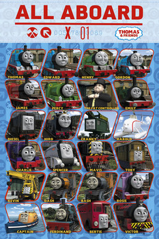 THOMAS AND FRIENDS - profile Affiche