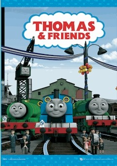 THOMAS AND HIS FRIENDS Poster en 3D
