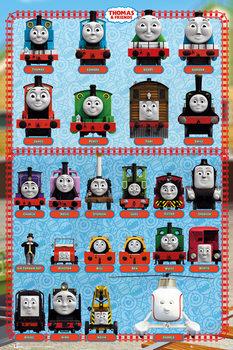 Thomas et ses amis - Characters Affiche