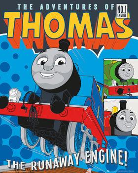 Thomas le petit train - Runaway Train Affiche