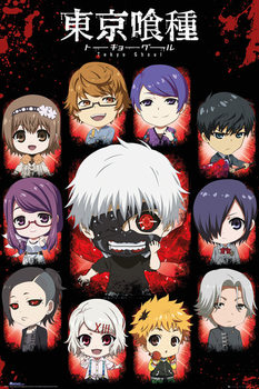 Tokyo Ghoul - Chibi Characters Affiche