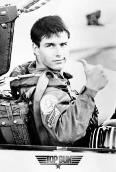 TOP GUN - Tom Cruise  Affiche