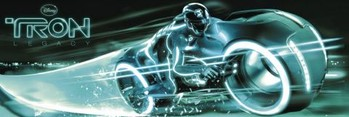 TRON - bike Affiche