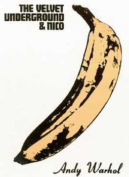 Velvet Underground - Andy Warhol Banana Affiche