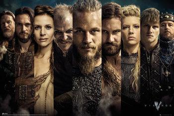 Vikings - Grid Poster