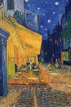 Vincent van Gogh - café terrace Affiche