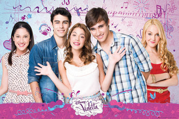 VIOLETTA - Cast Affiche