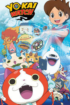 Yo-Kai Watch - Key Art Affiche