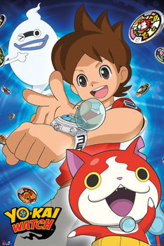 Yo-Kai Watch - Trio Affiche