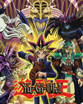 Yu Gi Oh! - Yugi and Monsters Affiche