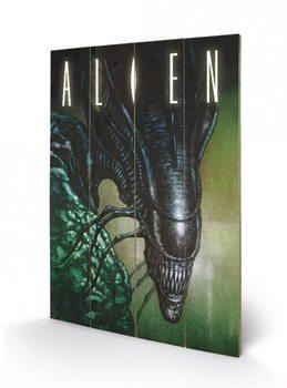 Alien - Creep Panneaux en Bois