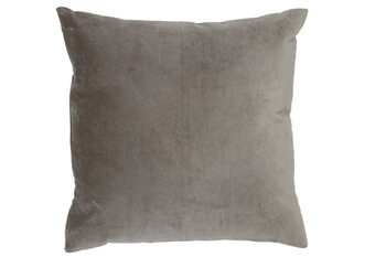 Almofada Cushion Khios -  Velvet Silver Grey