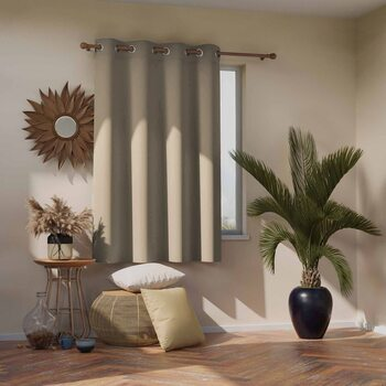 Curtain Amelia Home - Blackout Beige 1 pc