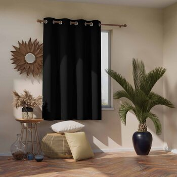 Curtain Amelia Home - Blackout Black 1 pc