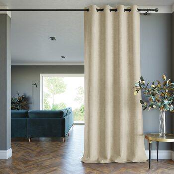 Curtain Amelia Home - Blackout Lamari Crem 1 pc