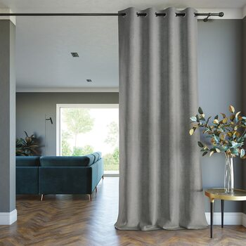 Curtain Amelia Home - Blackout Lamari Grey 1 pc