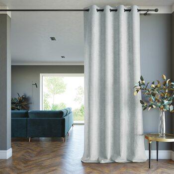 Curtain Amelia Home - Blackout Lamari Silver 1 pc