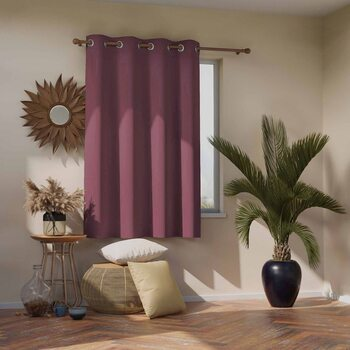 Curtain Amelia Home - Blackout Mauve 1 pc