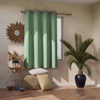 Curtain Amelia Home - Blackout Mint 1 pc