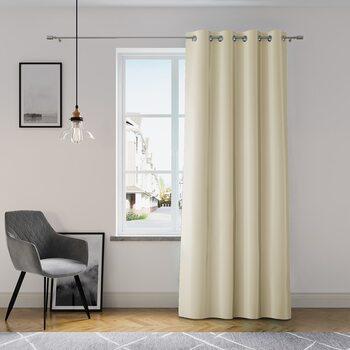 Curtain Amelia Home - Eyelets Beige 1 pc