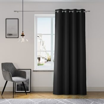 Cortina Amelia Home - Eyelets Black 1 pc