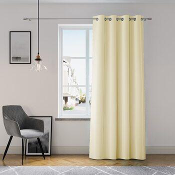Curtain Amelia Home - Eyelets Cream 1 pc
