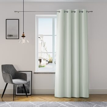 Curtain Amelia Home - Eyelets Silver 1 pc