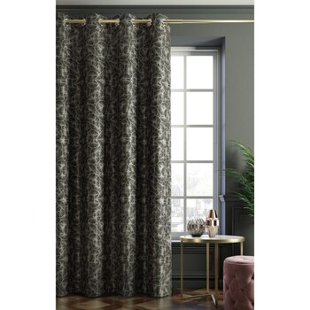 Curtain Amelia Home - Ginkgo Black 1 pc
