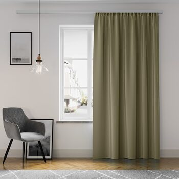 Curtain Amelia Home - Pleat Brown 1 pc