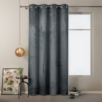 Cortina Amelia Home - Velvet Charcoal 1 pc