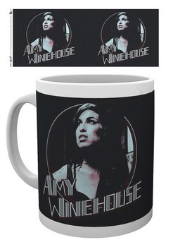 Mug Amy Winehouse - Retro Badge