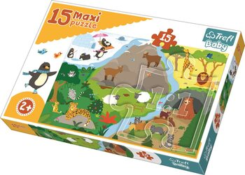 Puzzle Animals houses