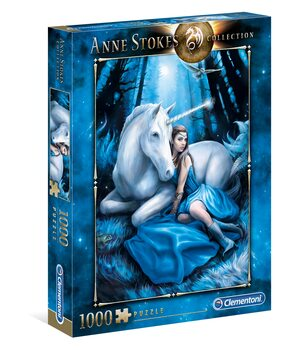 Puzzle Anne Stokes - Blue Moon