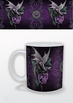 Cup Anne Stokes - dragon beauty