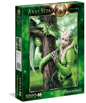 Palapeli Anne Stokes - Kindred Spirits