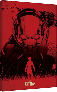 Ant-Man - Silhouette Canvas Print