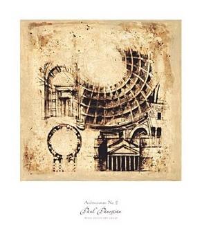Architectorum No. 2 Reproduction d'art