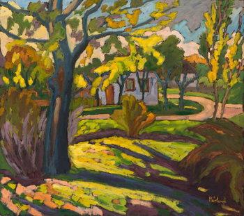 Reprodução do quadro 4222 Autumn in our Street, 2010