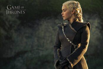 Impressão de arte A Guerra dos Tronos  - Daenerys Targaryen
