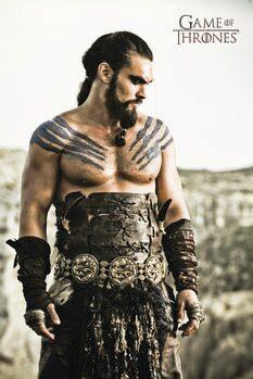 Poster A Guerra dos Tronos - Khal Drogo