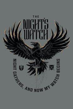 Poster A Guerra dos Tronos - The Night's Watch