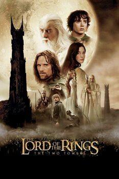 Poster A Irmandade do Anel - Duas torres