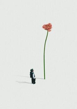 Illustration A quiet friend