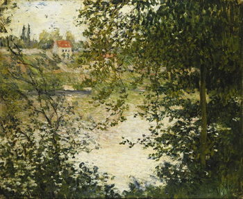 Fine Art Print A View Through the Trees of La Grande Jatte Island
