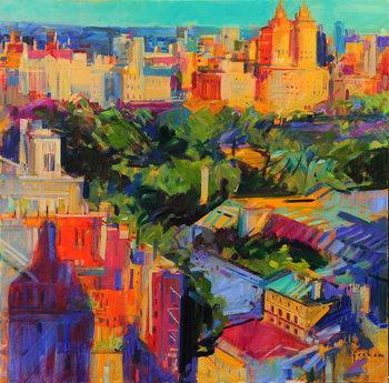 Reprodução do quadro Above Central Park