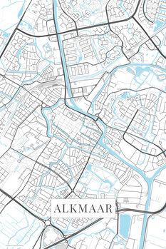 Map Alkmaar white